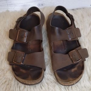 Birkenstock Brown Sandals VSCO Girl 39 US Size 8